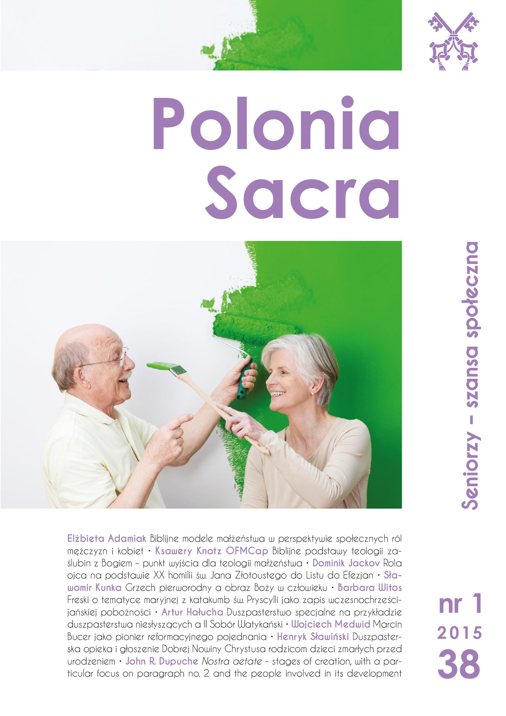 """""""Polonia Sacra"""" 19 (2015) nr 1"""